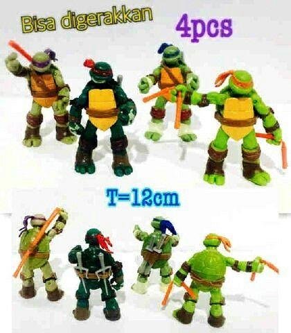 #cucigudang #miniatur #ninja #turtles import @ 75 rb