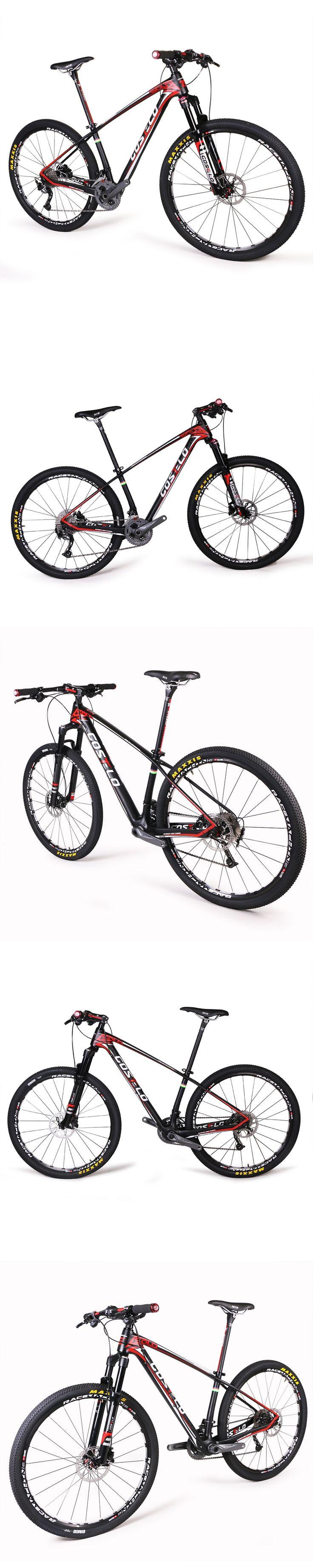 Original costelo 27.5 MTB Frame carbon Mountain Bike Ultralight 27.5er&29er MTB Frame original groups wheels saddle bar tire