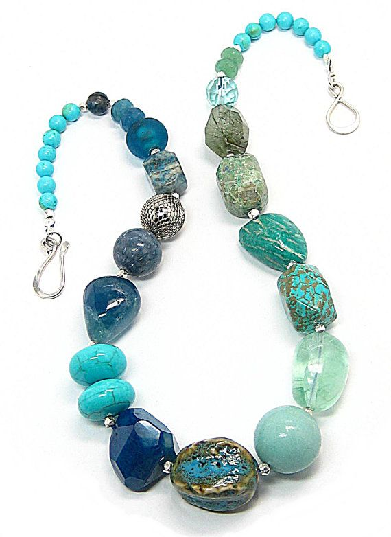 Nuggets in turquoise and teal ~~