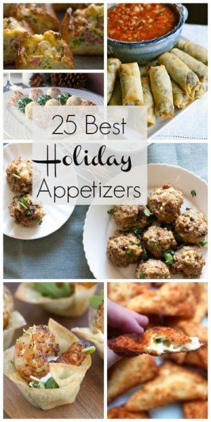 25 Best Holiday Appetizers | @Remodelaholic .com .com #holiday #appetizers #food