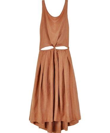 Copper Immortal Dress - $360: Summer Dresses, Dresses Samantha Pleet, Dresses One Pieces Overalls, Gnar Dresses, Backless Dresses, Pleet Dresses, Dresses I, Immortal Dresses, Dress Designs