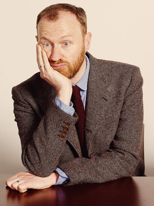 Mark Gatiss' expression in this photo pretty much sums up how I feel about life, the world, and everything sometimes. -BH