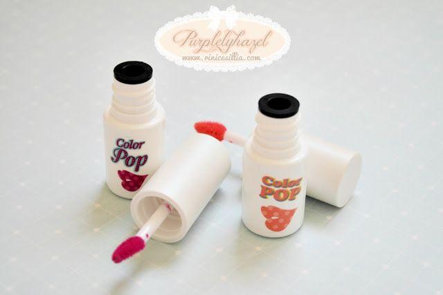 Etude House Color Pop Shine Tint No. 8 Berry Pop