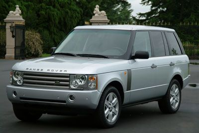 2005 Range Rover HSE Zampesi Silver with Blue Luxury interior