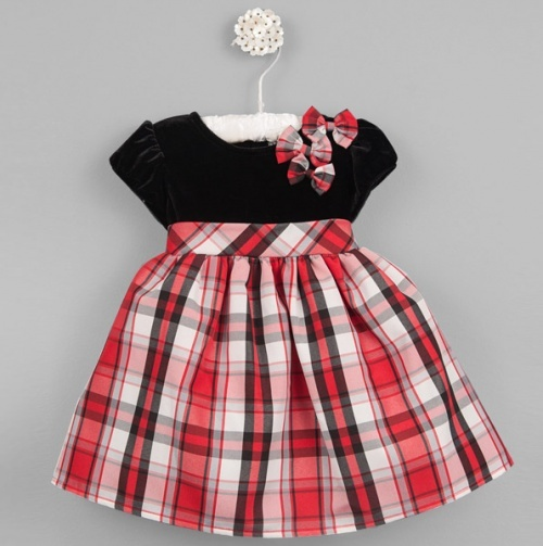 Hazel Plaid Dress...Adorable Christmas dress for a little princess!