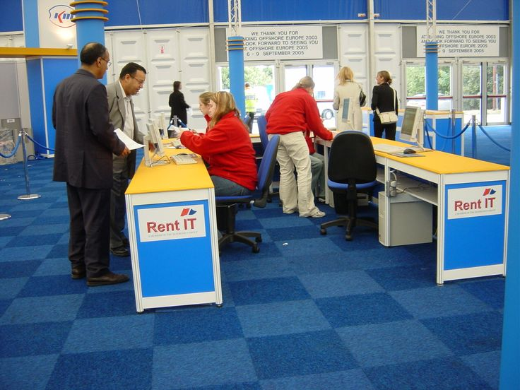 Registration Area at Offshore Europe 2003 #OffshoreEurope #OilandGas #AECC #Aberdeen