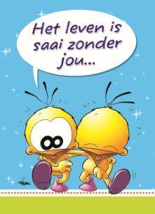 Het leven is saai zonder jou.. #Hallmark #HallmarkNL #vriendschap #love #liefde #friends