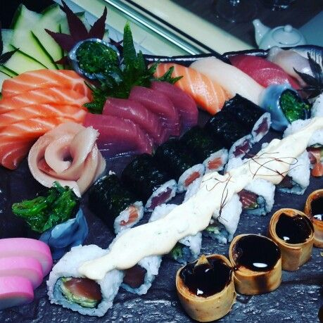 Cena sushi tonight da #Puro #Napoli eccellente! #sushiexperience #PURONapoli #Lifestyle #jetset