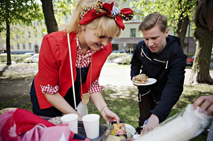 Ravintola Hesperian Haarukka Helsinki, Finland Restaurant Day 19 May 2012 Photo: Tuomas Sarparanta #restaurantday