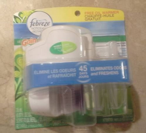 Brand New ~ Febreze7 Noticeables ~ Gain ~ Electric Air Freshener Kit