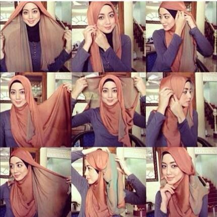 #2tones #shawl #hijab #tutorial