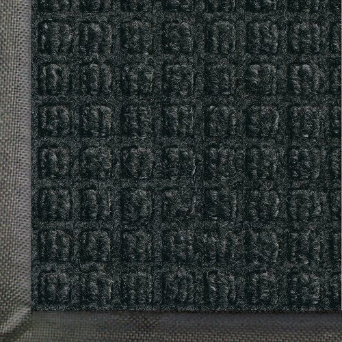 """Andersen 200 Charcoal Polypropylene WaterHog Classic Entrance Mat, 10' Length x 3' Width, For Indoor/Outdoor by Andersen. $115.83. Perfect for most applications inside or out, WaterHog Classic's unique design makes it revolutionary. The rubber reinforced face nubs and waffle design provide crush proof scraping action. The raised rubber """"water dam"""" border traps dirt and water - keeping them off carpet and floors. Contains 20 percent recycled content. Certified ..."""
