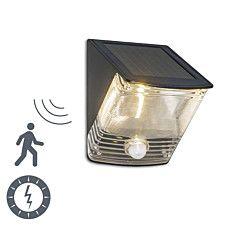 Lampa zewnętrzna Dark LED na energię słoneczną z czujnikiem ruchu - 44083