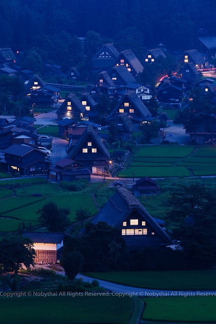 Historic Villages of Shirakawa-gō and Gokayama, Japan