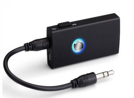 how to connect bluetooth transmitter to headphones