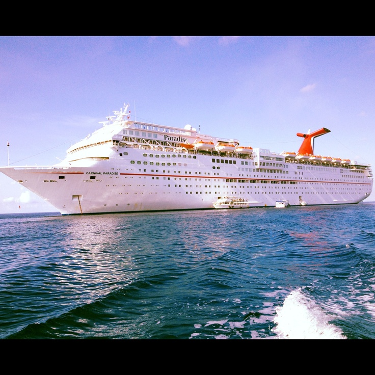 Carnival cruise ship over the ocean .. been there done that about 5or 6 times now LOVE CRUISING! best bang for your buck!