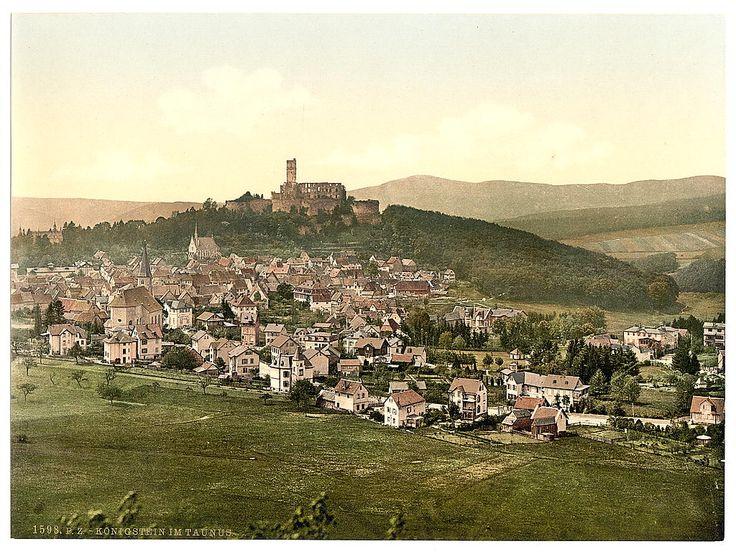 Koenigsten im Taunus, Germany. Lived here for five years.