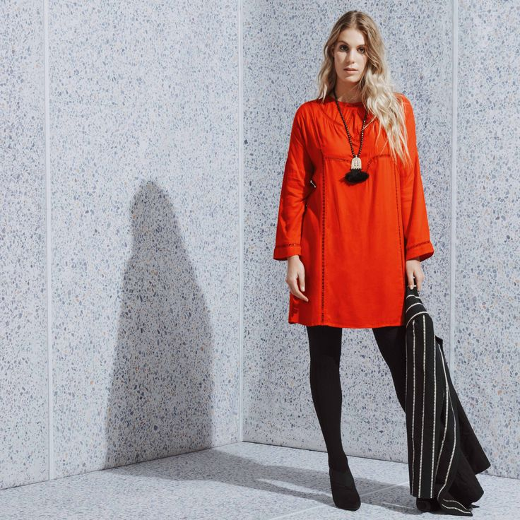Forget little black dress, you need a little red dress! The perfect pop of colour for your wardrobe  Hanna dress in red available now