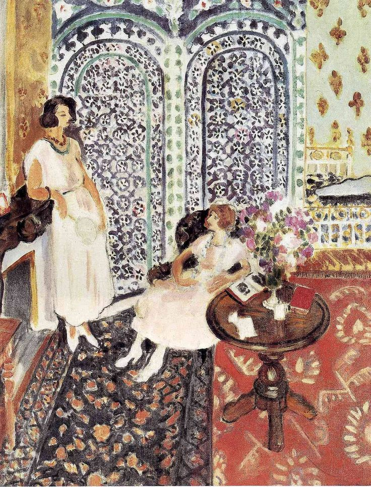 Moorish Screen, 1921, Henri Matisse