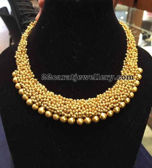 Gold Swirls Necklace - Jewellery Designs