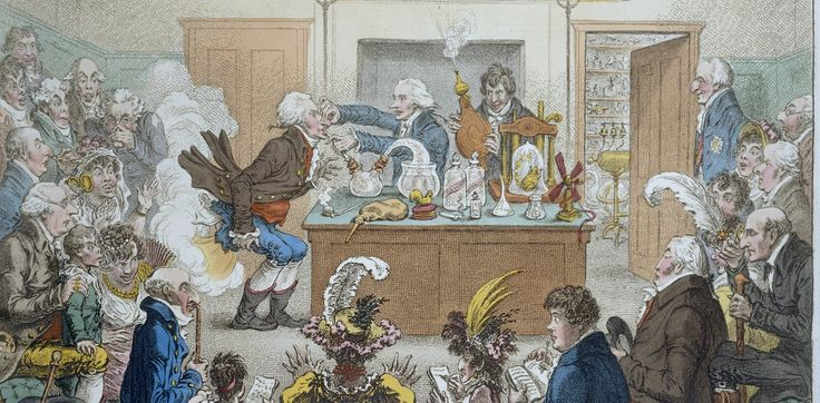 Sir Humphry Davy used poetry and theatre to bring science to life