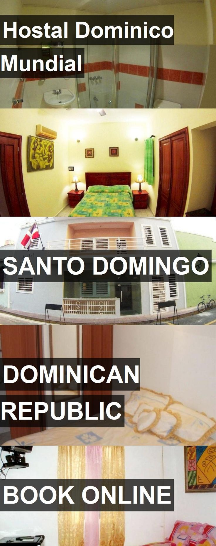 Hotel Hostal Dominico Mundial in Santo Domingo, Dominican Republic. For more information, photos, reviews and best prices please follow the link. #DominicanRepublic #SantoDomingo #hotel #travel #vacation