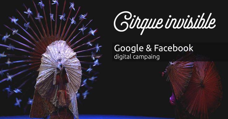 Η #aboutnet ανέλαβε την #digital καμπάνια σε Google και Facebook για την παράσταση Cirque invisible με την κόρη του Τσάρλι Τσάπλιν στο θέατρο Παλλάς