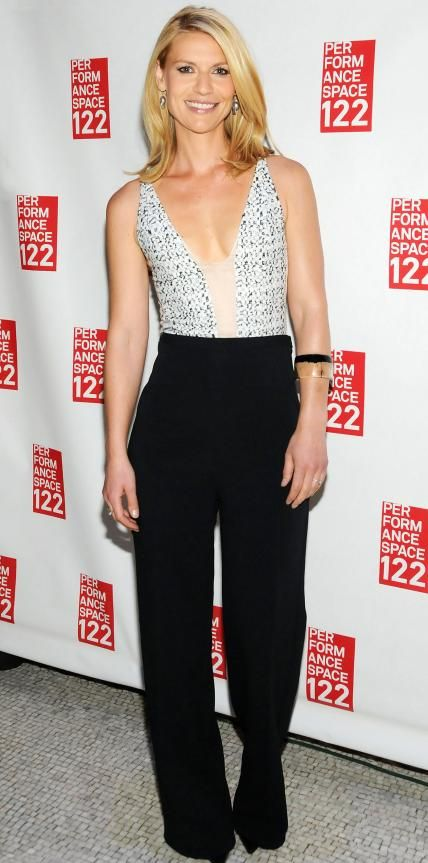 Claire Danes in Narciso Rodriguez.