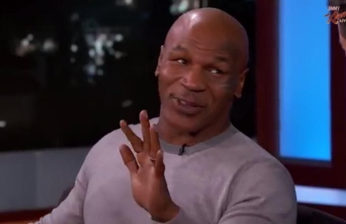 Mike Tyson says he had sex with hotel maids before the Buster Douglas fight.
