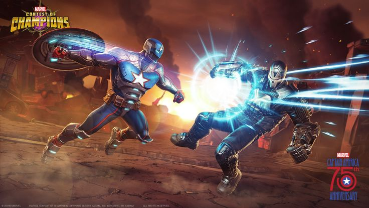 Captain America  -   Seven New Versions Of Captain America Introduced In New Marvel Game °°