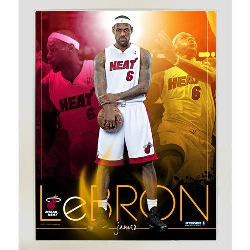 LeBron James Miami Heat Team Colors Composite Vertical Framed 11x14 Collage - This awesome 11x14 collage features a graphical collage of your Heat favorite LeBron James with the players number and comes beautifully framed with a silver frame. This is a must own for any New York Knicks or NBA fan!. Gifts > Licensed Gifts > Nba > Cleveland Cavaliers. Weight: 4.00
