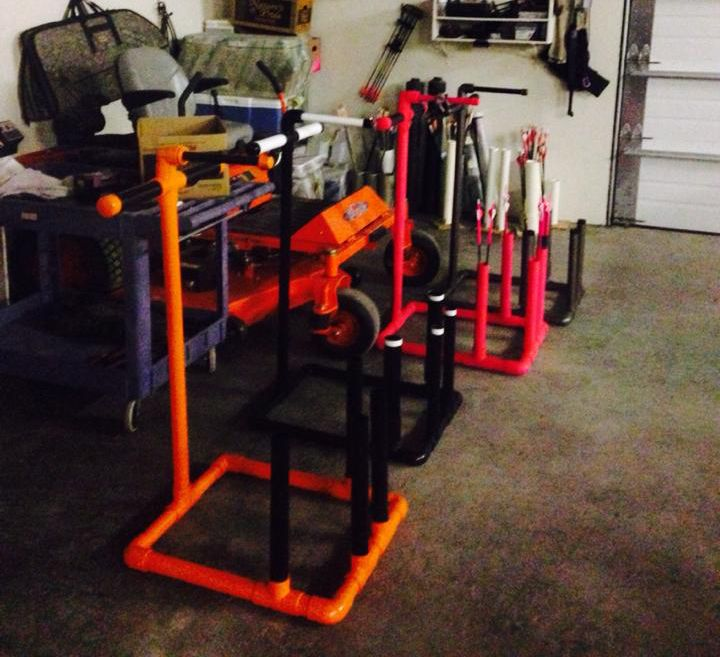 Pvc Projects For The Outdoorsman: 96 Best Bow Racks, Stands, And Accessories Images On Pinterest