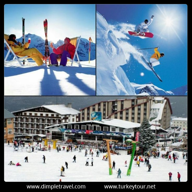 The ski slopes in Turkey offer a new vista for skiers who would like to explore an environment different from their familiar European winter sports. What\'s more, snow is virtually guaranteed throughout the season.The Best known of Turkey\'s many ski resorts is Uludag.   http://www.turkeytour.net/turkey-ski-packages/  #turkeytour #MountUludag #skitours #kartepe #kayakturları