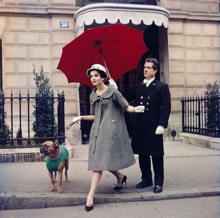 Dior by Yvs Saint Laurent, 1958