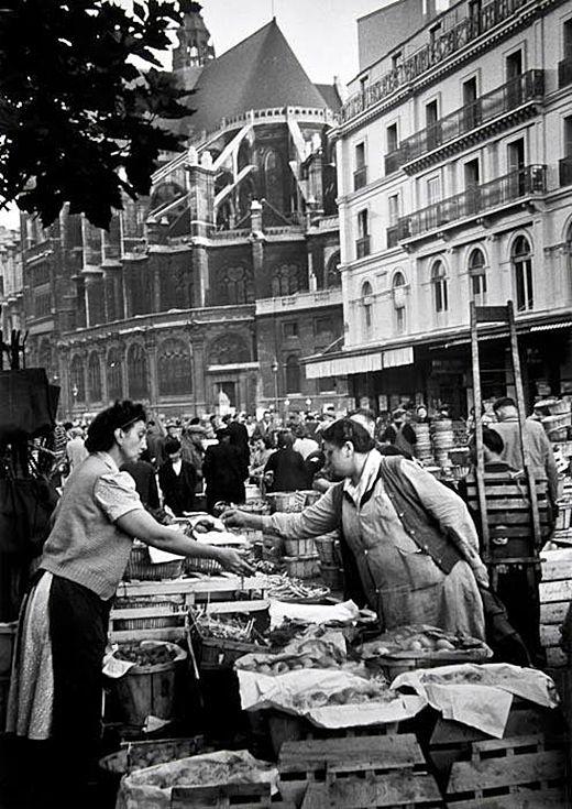 Paris 1948, Les Halles (Photo:Grace Robertson)