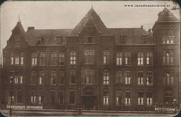 Rotterdam bergwegziekenhuis 1929