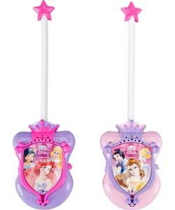 Now little Princesses can keep in touch in style wit these Walkie Talkies. Have fun on secret Princess missions, can you get Cinderella to the ball without being caught by the ugly sisters? A great toy for encouraging imaginative play. £9.99 from Argos