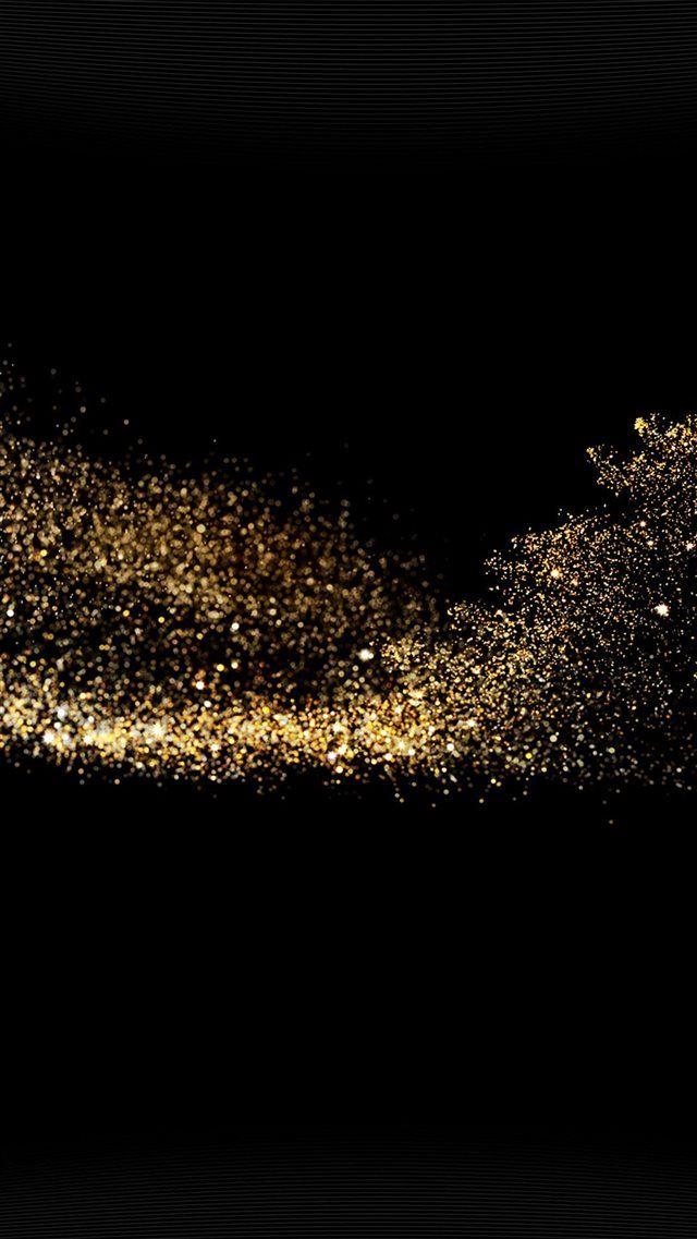 Gold Sparkle Beauty Dark Pattern Iphone 8 Wallpaper Gold Wallpaper Iphone Sparkle Wallpaper Gold And Black Wallpaper