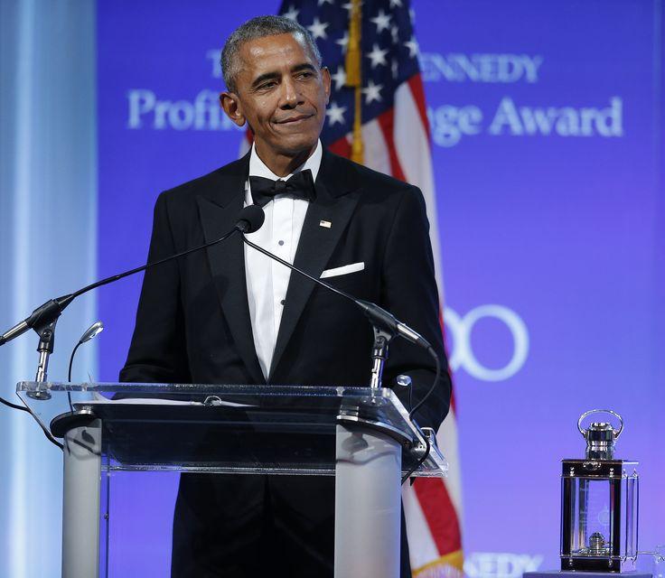 Barack Obama Profile in Courage Speech: Read the Transcript