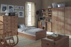studentský pokoj ( studentský nábytek ) Indiana borovice