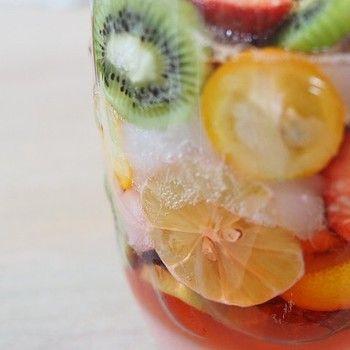 手作り【酵素ドリンク】はデトックスにも免疫アップにも◎季節のフルーツで自家製【酵素シロップ】を作ろう