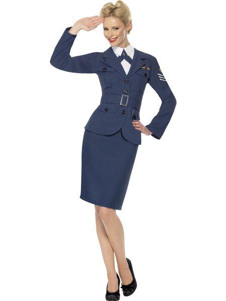 Naamiaisasu; 40-luvun lentokapteenitar | Naamiaismaailma