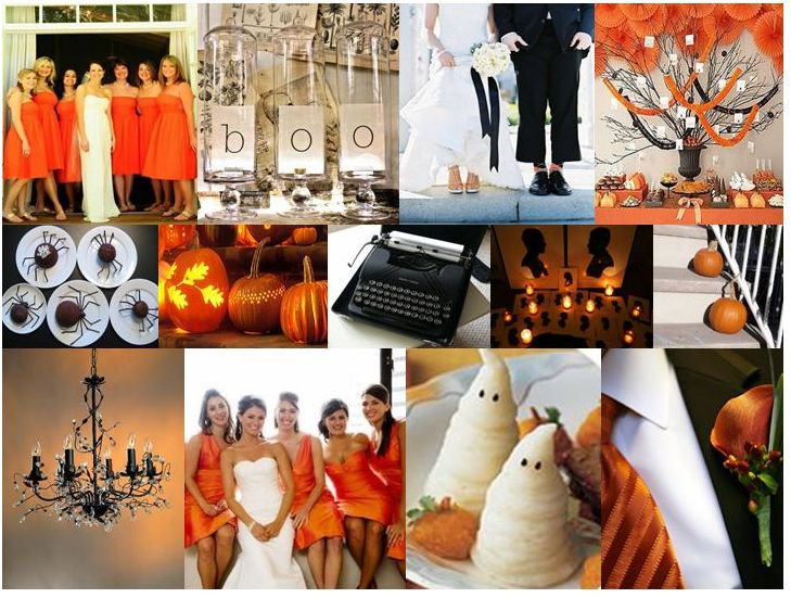 Best 25 halloween themed weddings ideas on pinterest gothic love this classic halloween wedding inspiration board swoon style and home halloween weddings junglespirit Image collections