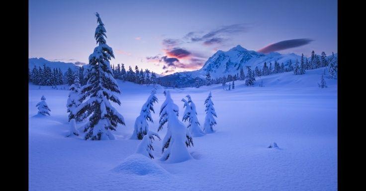 monte Baker, no Estado de Washington