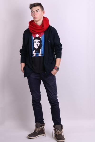 Re Rock 4ever Mens L Shirt Black Summer Revolution - RetrospectClothes