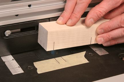 Learn how to cut a mortise using your router table. Cutting mortises is easy with a router table. Woodworking step-by-step techniques. Woodworker's Journal.