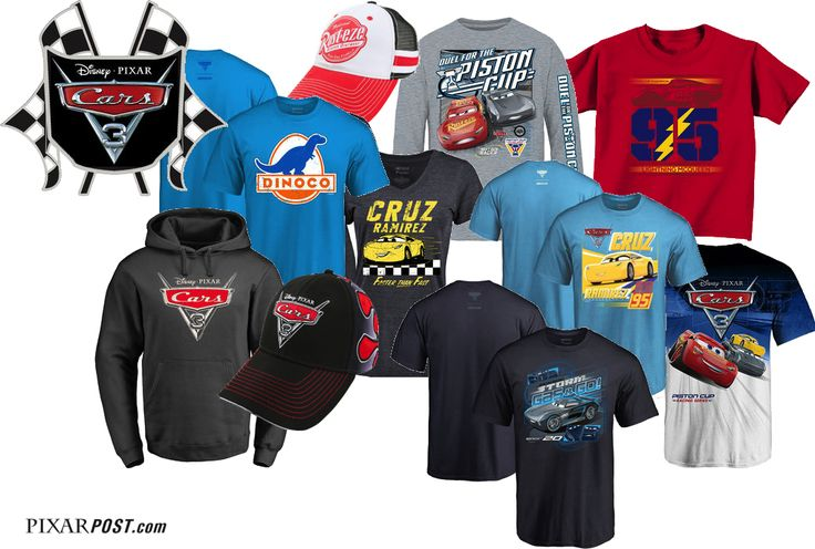 Expansive 'Cars 3' Apparel & Collector's Merchandise Now Available Through the NASCAR Online Store