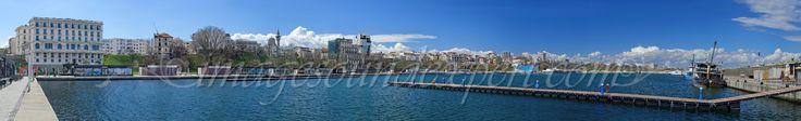 panorama hotel palace-geamia  hunchiar-constanta, panoramic photography,
