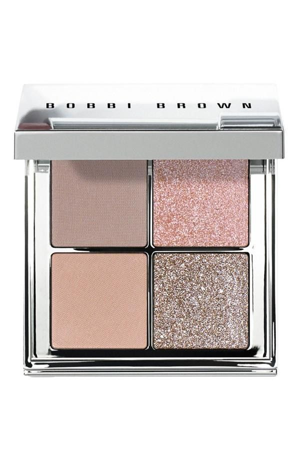 Bobbi Brown Nude Glow Eyeshadow Palette there's a dupe for this pallet at target if you look for sonia kashuk's products :)