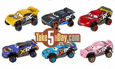 Mattel Disney Pixar Cars Xtreme Racing Series Xrs Coming To
